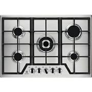 Electrolux 75cm 5 Burner Gas Stainless Steel Hob KGS7536X