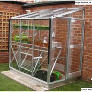 Elite Greenhouses Windsor 4ft 4ins Wide Lean to Greenhouse Package Deal