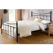Emily Metal Bed Frame by Birlea Black Double
