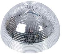 Eurolite Half Mirror Ball 40cm with engine