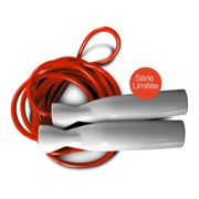 Excellerator - Skipping rope Red / Red 2,55 m