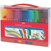 Faber-Castell Felt Tip Pens 155560 3 mm Assorted Pack of 60