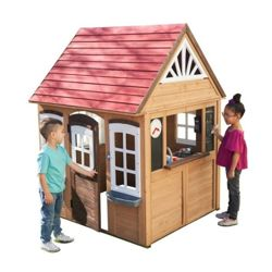 Pricehunter.co.uk - Price comparison & product search. Product image for  wooden playhouse with assembly