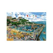 Falcon Deluxe Newquay Harbour Jigsaw Puzzle (1000 Pieces)
