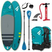 "Fanatic Fly Air Premium/Pure SUP Package 10'4"" Inflatable SUP with Paddle and Pump 2021 SUP Boards"