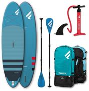 "Fanatic Fly Air Premium/Pure SUP Package 10'8"" Inflatable SUP with Paddle and Pump 2021 SUP Boards"