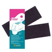 Ferplast (l135) Spare Carbon Filter For Toilets - Single