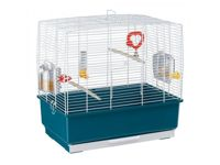 Ferplast Rekord 3 Bird Cages - White Cage - 49 x 30 x 49cm
