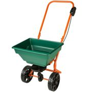 Fertilizer spreader cart - green
