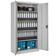 Filing cabinet with 5 shelves - grey