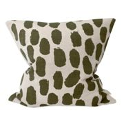 Fine Little Day Dots cushion cover 48x48 cm beige-olive green