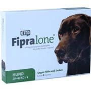 FIPRALONE 268 mg Lsg.z.Auftropf.f.groe Hunde Lsung 4 units