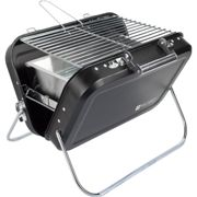 Fire Pit Table Square Steel Patio Garden Heater Outdoor Folding BBQ