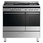 Fisher Paykel OR90L7DBGFX1 90cm Dual Fuel Range Cooker - STAINLESS STEEL