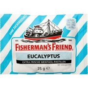 FISHERMANS FRIEND Eucalyptus ohne Zucker Pastillen 25 g