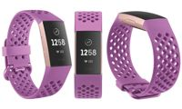 FitBit Strap: Charge 3 Sport - Berry - Large