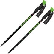 FIZAN Compact Green - Hiking pole - Black/Green - size Unique