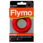 Fly FLY031 Single Line Manual Feed Spool and Line to Suit Mini Trim and Mini Trim ST Red