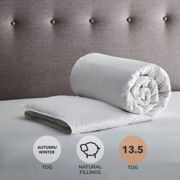 Fogarty Duck Feather and Down 13.5 Tog Duvet White