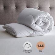 Fogarty Touch of Silk 13.5 Tog Duvet White
