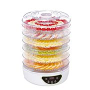 Food Dehydrator & Dryer - 48 Hour Digital Timer - 6 Collapsible Trays