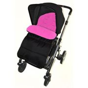 Footmuff / Cosy Toes Compatible with Joie Aire Lite Stroller Pushchair Pink Rose