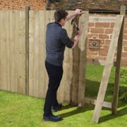 """Forest 3.9""""x5'11"""" Featheredge Boards Pack of 10"""
