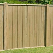Forest 6'x5' Pressure Treated Vertical Tongue and Groove Fence Panel
