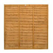 Forest 6'x6' Lap Fence Panel