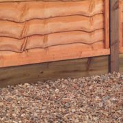 """Forest 6'x6"""" Pressure Treated Wooden Gravel Board"""