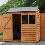 Forest 4 x 6 Apex Shed Reverse