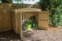 Forest Garden Apex Pressure Treated Large Outdoor Store