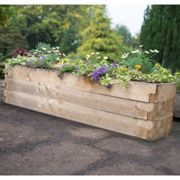 Forest Garden Caledonian Raised Bed Planter 1.8m x 0.45m
