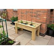 Forest Garden Forest Grow Bag Tray Container - 1m Wood