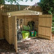 Forest Garden Pressure Treated Overlap Apex Large Outdoor Store