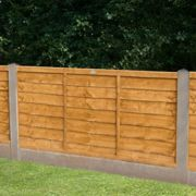 Forest Garden Trade Lap Fence Panel: 4 Heights Available