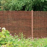 Forest Garden Willow Hurdle (1.8m High)