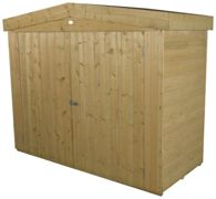 Forest Shiplap Apex Large Outdoor Store - Pressure Treated One Colour