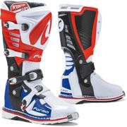 Forma Predator 2.0 Motocross Boots, white-red-blue, size 45