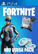 Fortnite Epic Neo Versa Bundle + 500 V-Bucks PSN PS4 Key EU