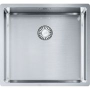 Franke Box Undermount or Countertop Stainless Steel Sink, 1 bowl 490mm 11053