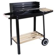 (Franklin BBQ ) Marko BBQ Barbecue Outdoor Garden Charcoal Barbeque Patio Party Cooking Large