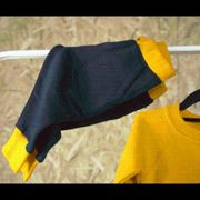 Fresh Kids - Track Bottoms - Track Bottoms / 9-12 / Navy/ Yellow Trim