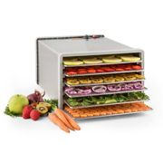 Fruit Jerky Steel 6 Automatic Food Dehydrator Dryer 630W 6 Floors Stainless Steel