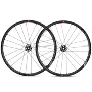Fulcrum Racing 3 DB Clincher Road Wheelset - 2019 - Black / Shimano / 12mm Front - 142x12mm Rear / Pair / 10-11 Speed / Centerlock / Clincher / 700c Black