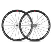 Fulcrum Racing Speed 40C C17 Carbon Clincher Road Wheelset - Black / Shimano / Pair / 11 Speed / Clincher / 700c Black