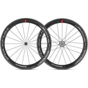 Fulcrum Racing Speed 55C C17 Carbon Clincher Road Wheelset - 2019 - Black / Shimano / Pair / 10-11 Speed / Clincher / 700c Black