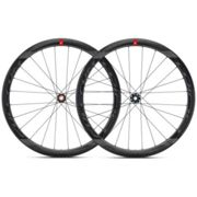 Fulcrum Racing Wind 40 DB Carbon Disc Road Wheelset - Black / Shimano / SRAM / 12mm Front - 142x12mm Rear / Pair / 11 Speed / Centerlock / Tubeless / 700c Black