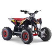 FunBikes T-Max Roughrider 1000w Electric Red Kids Quad Bike