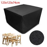Furniture Cover Waterproof Covers for Rattan Table Cube Seat Outdoor